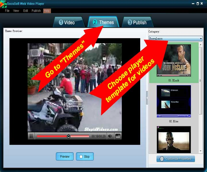 Pictorial Guide to Adding Video to a Website
