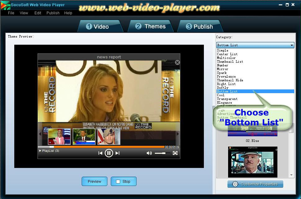 Free FLV Player - Download